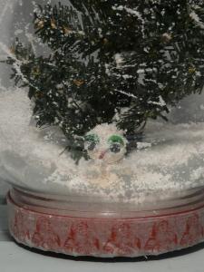 Muñeco de Nieve y Árbol