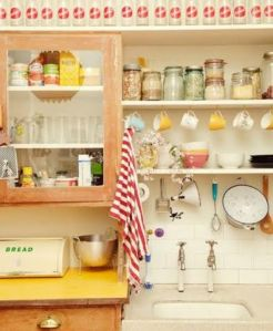 Un orden muy personal en la cocina