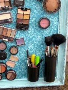Maquillaje a la vista