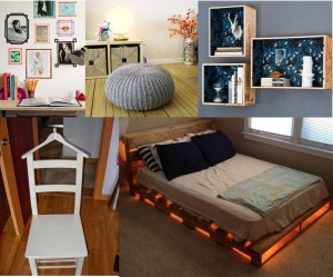 Collage 5 DIY para tu habitación.