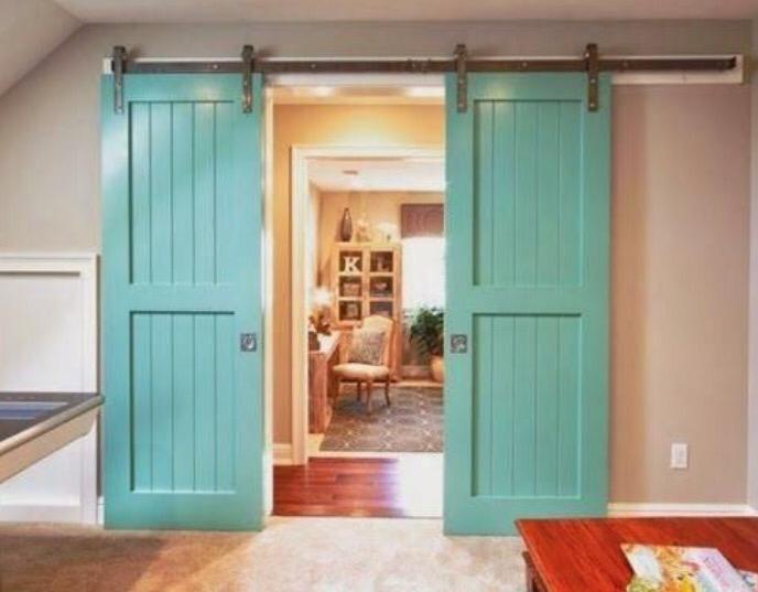 Necesitas puertas correderas 21 ejemplos que te van a - Puertas correderas interior rusticas ...