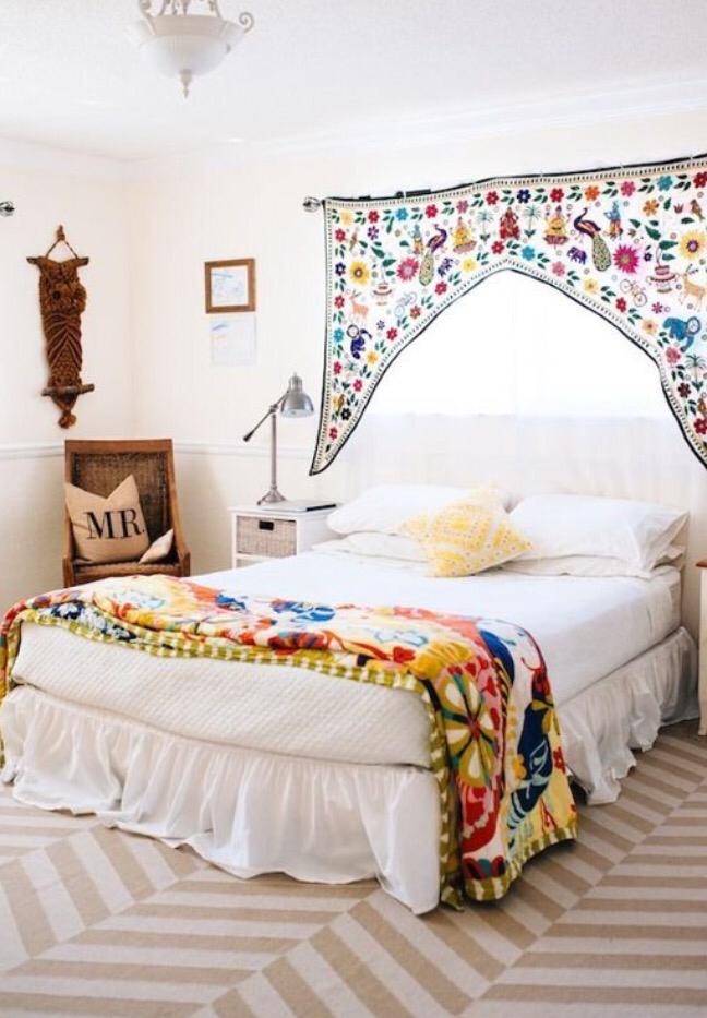 17 dormitorios boho for Dormitorio boho
